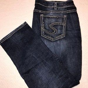Silver Jean - Suki Straight - Size 24